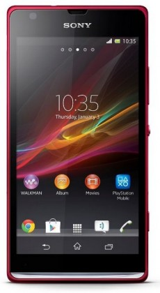 Smartphone  Sony Xperia SP (C5303) Red