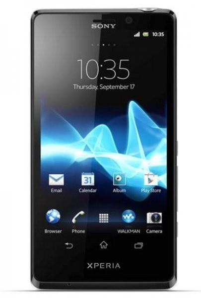Smartphone  Sony Xperia T LT30 Silver