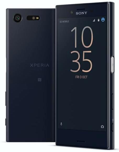 Smartphone Sony Xperia X Compact Black