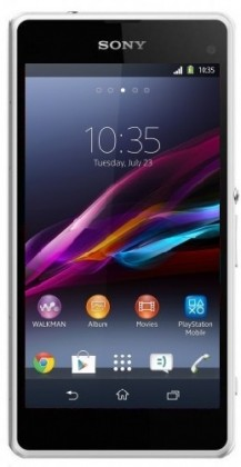 Smartphone Sony Xperia Z1 Compact (D5503) White