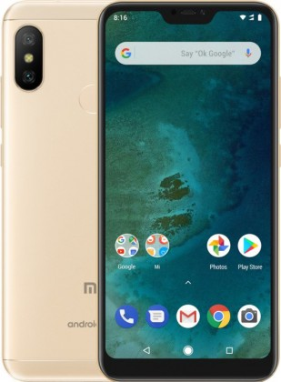 Smartphone Xiaomi Mi A2 Lite Gold 4GB/64GB Global Version