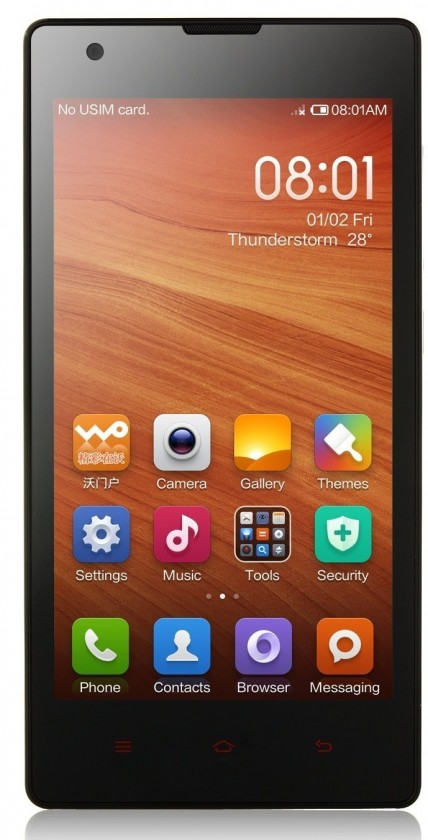 Smartphone Xiaomi Redmi 1S 8GB red