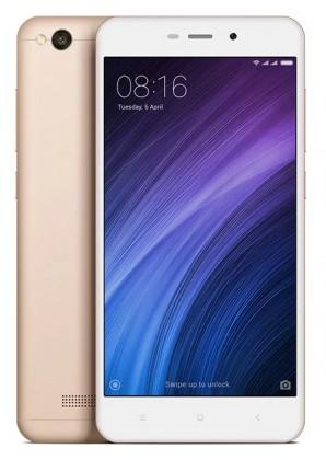 Smartphone Xiaomi Redmi 4A Global, Dual SIM, CZ LTE 16GB, zlatá