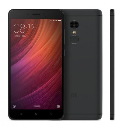 Smartphone Xiaomi Redmi Note 4 4GB/64GB Global, black
