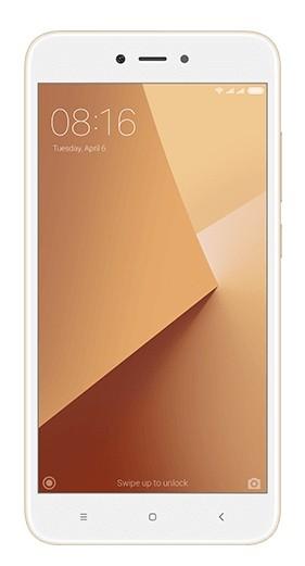 Smartphone Xiaomi Redmi Note 5A, CZ LTE, Dual SIM, 16 GB, zlatá