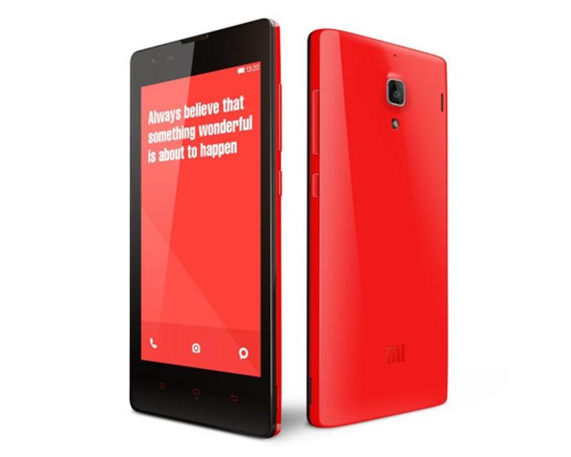 Smartphone Xiaomi Redmi Note LTE red ROZBALENO