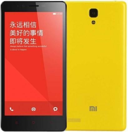 Smartphone Xiaomi Redmi Note LTE yellow VADA VZHĽADU, ODRENINY