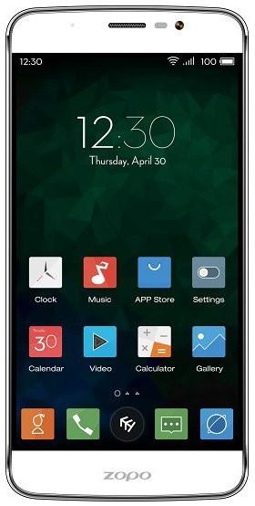 Smartphone Zopo ZP952 Speed 7 Plus,biela ROZBALENÉ