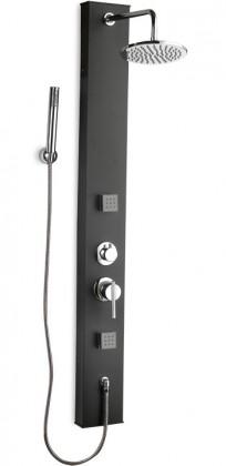 Soft 251k  Sprchový hydromasážny panel (černé)
