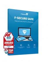 Software F-Secure SAFE, 3 zariadenia/1 rok (FCFXBR1N003G2)