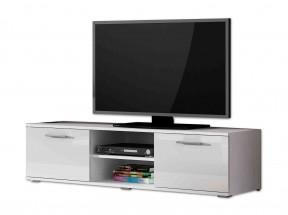 Soho - TV komoda (biely mat / biela lesk, RTV '140')