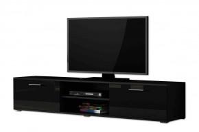 Soho - TV komoda (čierny mat / čierna vysoký lesk, RTV '180' )