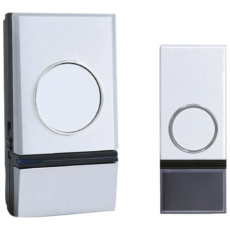 Solight 1L28 bezdrôtový zvonček do zásuvky,200m,biely,learning