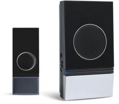 Solight 1L29, bezdrôtový zvonček, 200m, čierny