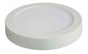 Solight LED panel prisadený, 12W, 900lm, 3000K, okrúhly, biely