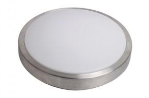 Solight LED strieborné stropné svetlo, 20W, 1400lm, 3000K, 39cm