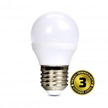 Solight LED žárovka, miniglobe, 6W, E27, 4000K, 450lm