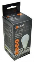 Solight LED žiarovka,klasický tvar,7W,E27,3000K,270°520lm WZ504