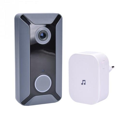 Solight Wi-Fi bezdrôtový zvonček s kamerou Solight 1L200 POUŽITÉ,
