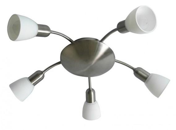 Soma - Stropné osvetlenie, 6305 (saténovo chromová/biela)
