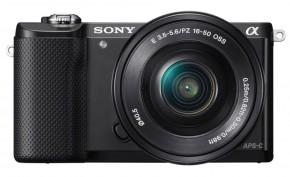 Sony Alpha 5000, čierná + objektiv 16-50mm ILCE5000LB.CEC