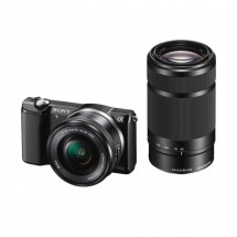 Sony Alpha 5000 čierny +  16-50mm a 55-210mm (ILCE5000YB.CEC)
