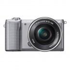 Sony Alpha 5000 strieborný + objektív 16-50mm (ILCE5000LB.CEC)