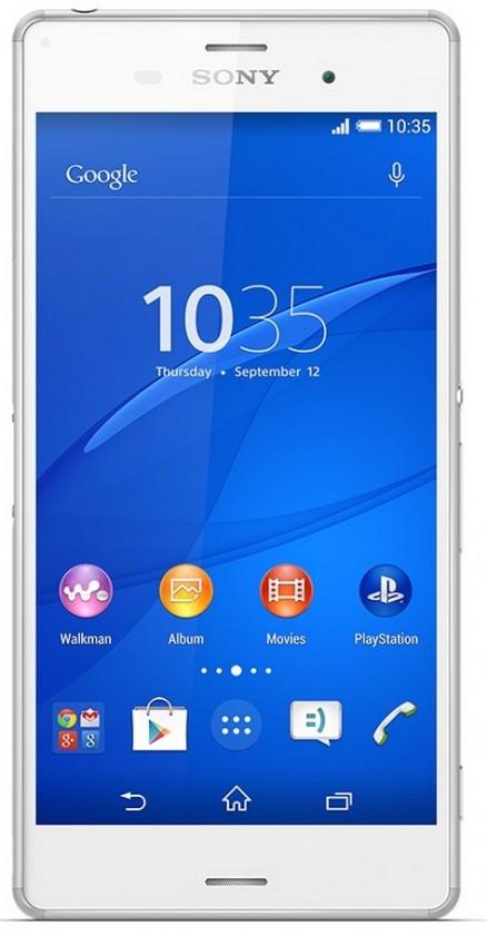 Sony D6603 Xperia Z3 White ROZBALENO