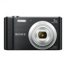 "SONY DSC-W800B 20,1 MP, 5x zoom, 2,7"" LCD - BLACK"