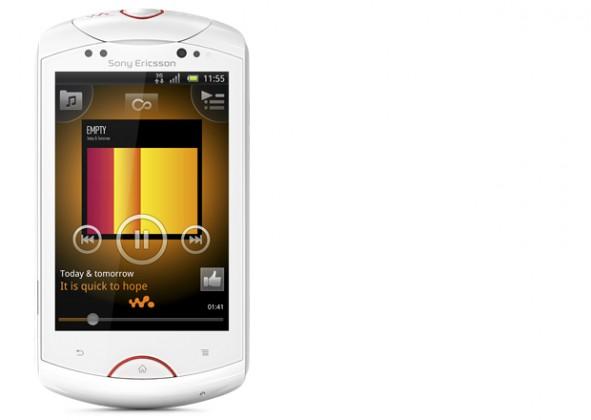Sony Ericsson Live WT19i White