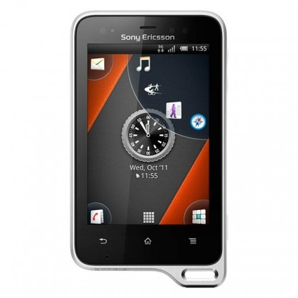 Sony Ericsson Xperia Active Black White