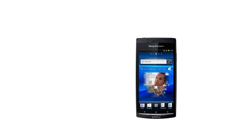 Sony Ericsson Xperia ARC S Gloss Black