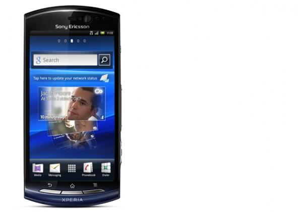 Sony Ericsson Xperia Neo V Blue Gradient