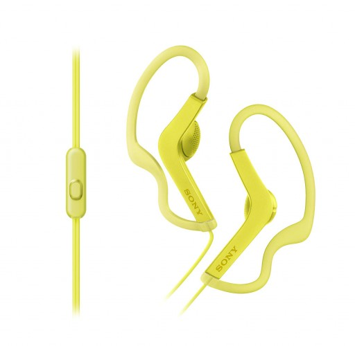 Sony MDR-AS210AP (žltá)