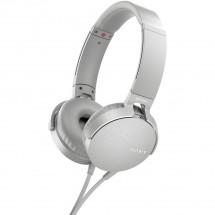 Sony MDR-XB550AP, bílá MDRXB550APW.CE7