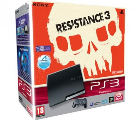 Sony Playstation 3 320 GB + hra Resistance 3