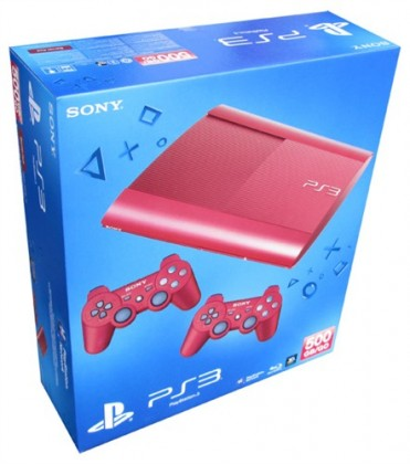 Sony PlayStation 3 - 500GB + 2x Dualshock Controller - RED