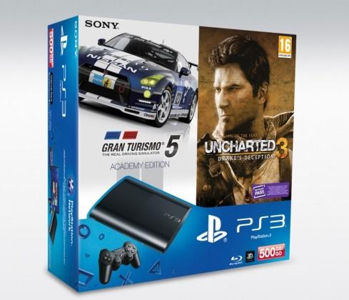 Sony PlayStation 3 - 500GB + GT5 Academy Edition + U3 GOTY