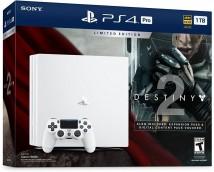 Sony PlayStation 4 Pro 1TB bílá + Destiny 2 + PS Plus 14 dní