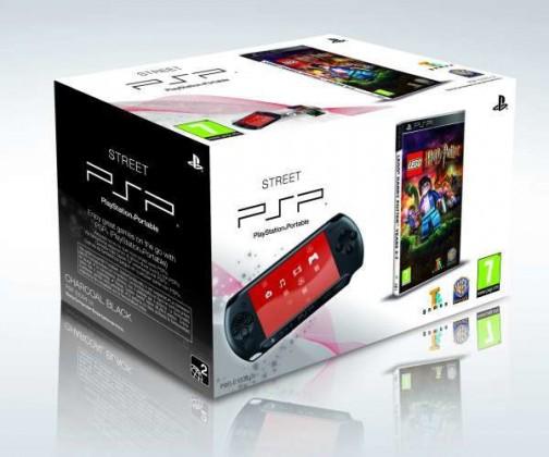Sony PSP Base Pack - BLACK + LEGO Harry Potter 5-7