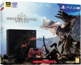 Sony SONY PlayStation 4 PRO - 1TB + Monster Hunter - PS719370970