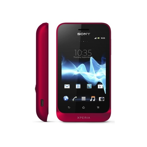 Sony Xperia tipo Deep Red ST21i