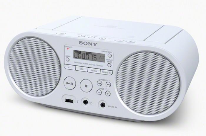 SONY ZS-PS50W White