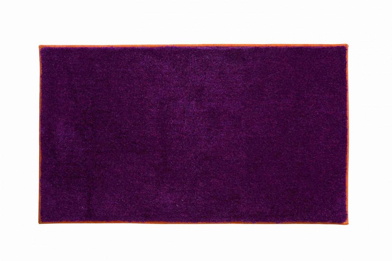 Soto - Kúpeľňová predložka 65x115 cm (purpurová-papaya)