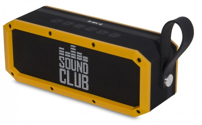 Sound Club RUGGED by Goclever - odoln? p?enosn? BT reproduktor IP