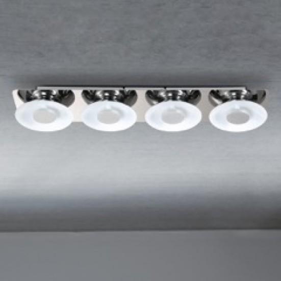 Space - Stropné osvetlenie, LED (chróm)