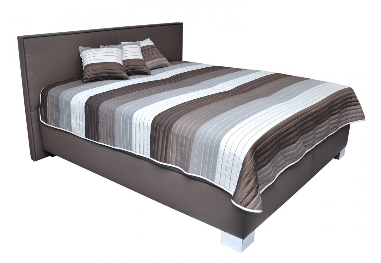 Spálne ZLACNENÉ Čalúnená posteľ Grand 180x200 vrát. pol.roštu a úp,bez matracov