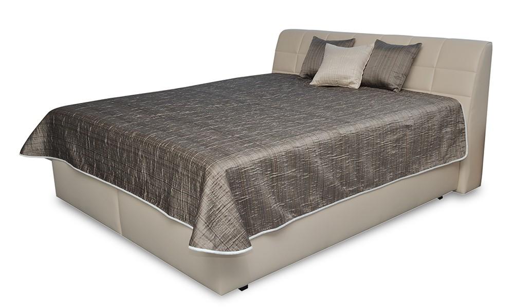 Spálne ZLACNENÉ Čalúnená posteľ Valencia - 180x200, pol.rošt a úp, bez matracov