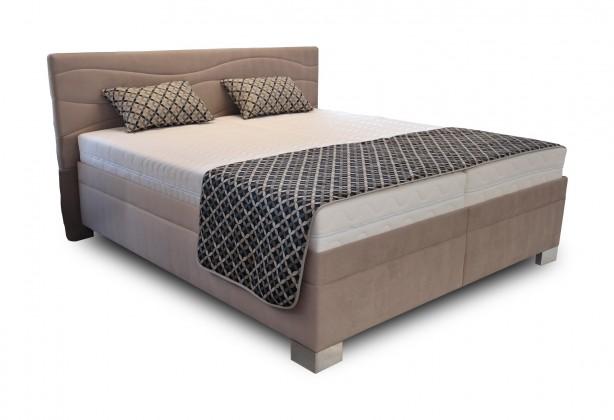Spálne ZLACNENÉ Čalúnená posteľ Windsor 180x200 vrátane výkl.roštov,matrac. a úp
