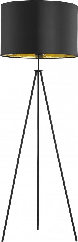 Spálne ZLACNENÉ Lampa Office black (čierna, 145 cm) - II. akosť